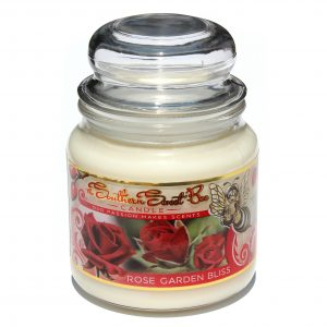 rose garden bliss beeswax candle