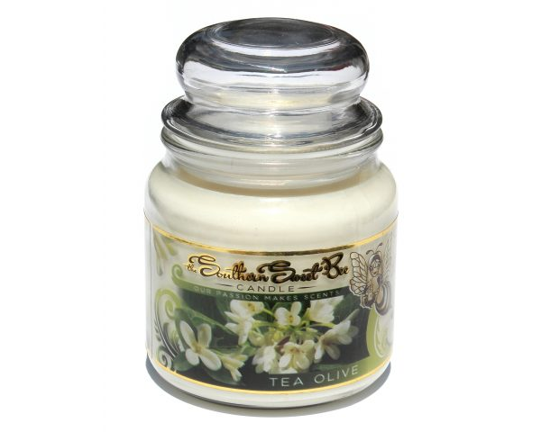 tea olive beeswax candle
